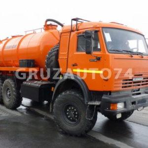 Автомобиль для сбора нефтеконденсата Камаз 43118 (АКН-10, 66011A)