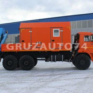 АРОК на базе шасси КамАЗ 43118-46 с КМУ