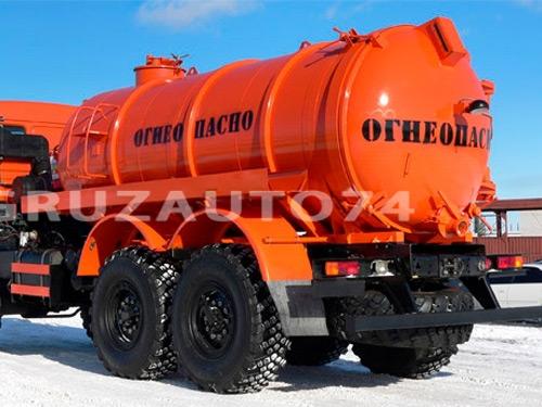Автомобиль для сбора нефтеконденсата КАМАЗ 43118 (АКН-10ОД)