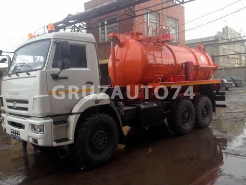 Автомобиль для сбора нефтеконденсата Камаз 43118 (АКНС-10)