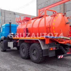 Автомобиль для сбора нефтеконденсата УРАЛ-4320 (АКН-10ОД)