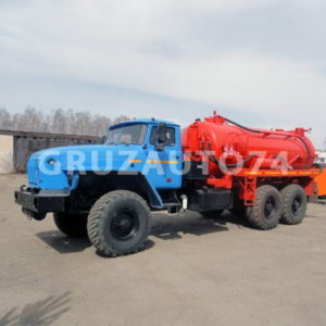 Автомобиль для сбора нефтеконденсата УРАЛ-4320 (АКНC-10)