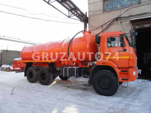 Автомобиль для сбора нефтеконденсата Камаз 65115 (АКН-15, 66011B, 66011C)