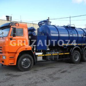 Автомобиль для сбора нефтеконденсата КАМАЗ 6520 (АКНС-15)