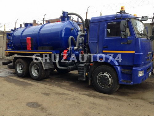 Автомобиль для сбора нефтеконденсата КАМАЗ-65115 (АКН-15ОД)