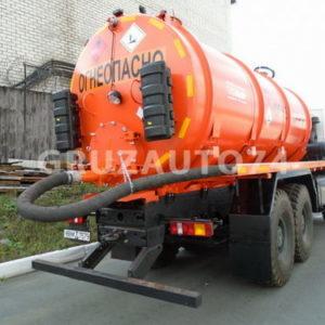 Автомобиль для сбора нефтеконденсата МАЗ 6317X5 (АКН-15)