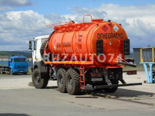 Автомобиль для сбора нефтеконденсата МАЗ 6317X5 (АКН-18)