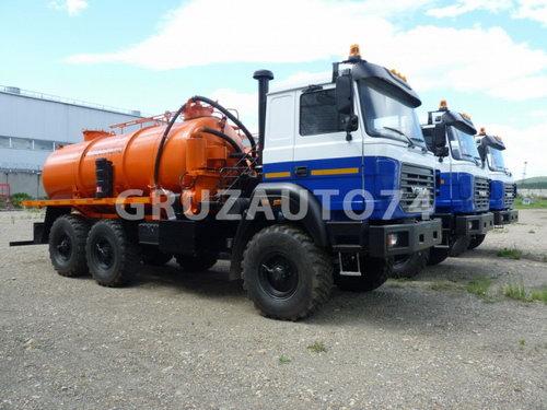 Автомобиль для сбора нефтеконденсата Урал 5557 (АКН-10, 66012C)