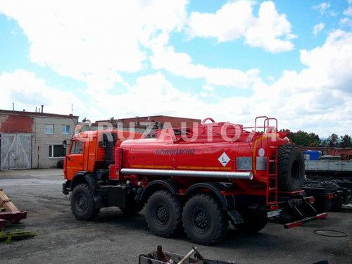 Автотопливозаправщик АТЗ-10 на шасси Камаз 43118 (66021A)