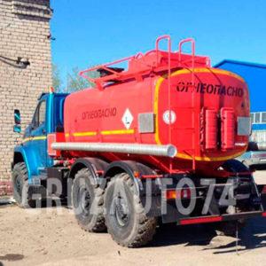 Автотопливозаправщик АТЗ-10 на шасси Урал-NEXT 4320-6912-72/-74 (66024P)