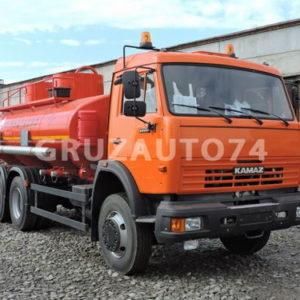 Автотопливозаправщик АТЗ-11 на шасси КАМАЗ-65111