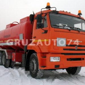 Автотопливозаправщик АТЗ-15 на шасси Камаз 65115 (66021B)