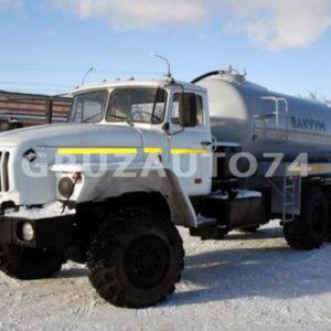 Машина вакуумная МВ-10 ОД на шасси Урал-4320