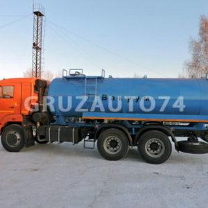 Машина вакуумная МВ-12 на шасси КАМАЗ 65115