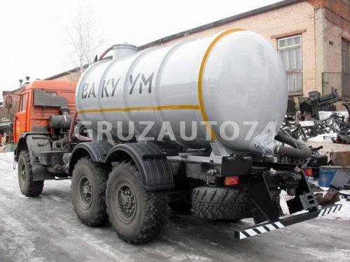 Машина вакуумная МВ- 7 на шасси Камаз 43118