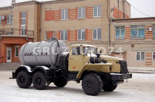Машина вакуумная МВ- 7 на шасси Урал-4320