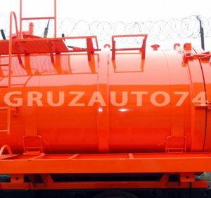 Машина вакуумная МВ- 8 на шасси Урал-4320