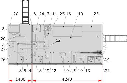ПАРМ без токарного станка на шасси КамАЗ 43118-46