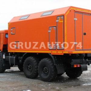 ПАРМ с токарным станком на шасси КамАЗ 43118-46