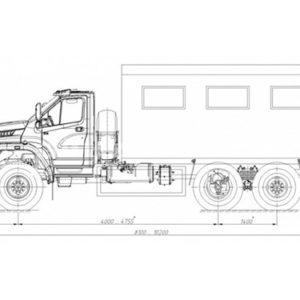 ПАРМ Урал-NEXT 4320-6951-72/-74 (69024P)