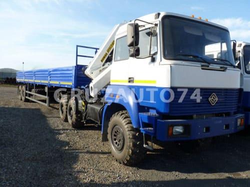 Седельный тягач Урал 44202-80 с крано-манипуляторной установкой (69022D)